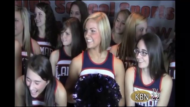 Lamar County Cheerleaders Debut