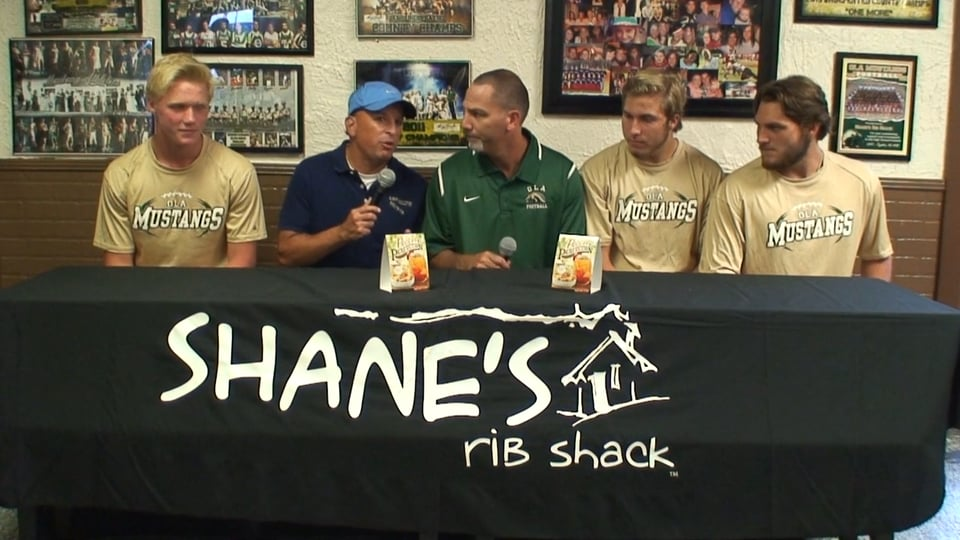 KBN Sports Beat with Ola Mustangs at Shane's Ribshack on Hwy 81