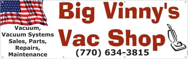 $30 Gift Certificate to Big Vinny's Vacuum Shop